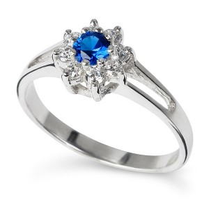 Nila, royal style engagement ring