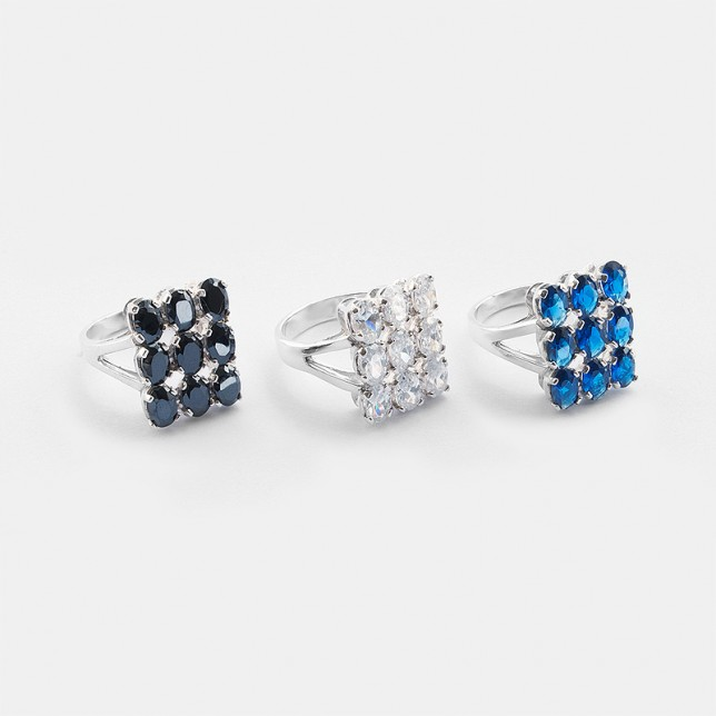 Be bold!  New silver rings.