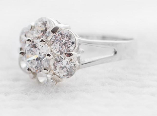 PLUMERIA Silver Ring
