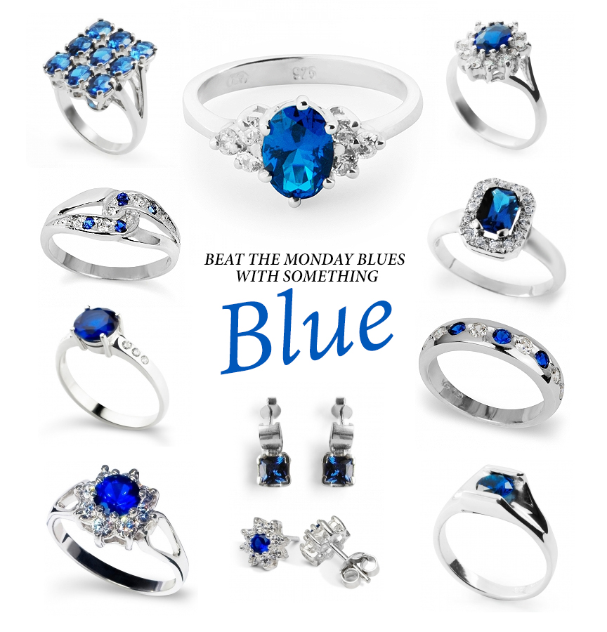 Beat the Monday Blues  with something Blue