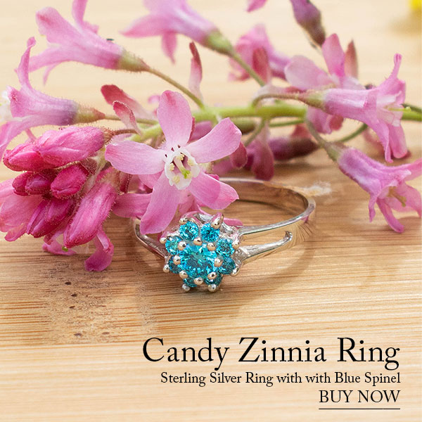 CANDY ZINNIA Silver Ring