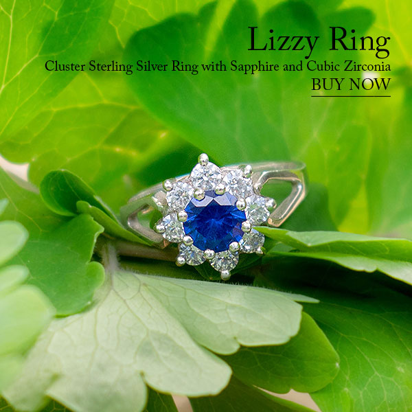 Lizzy Silver Ring