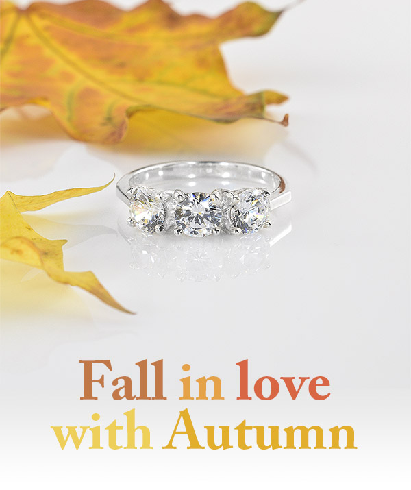 Fall in love with Autumn - Alpin Silver Ring